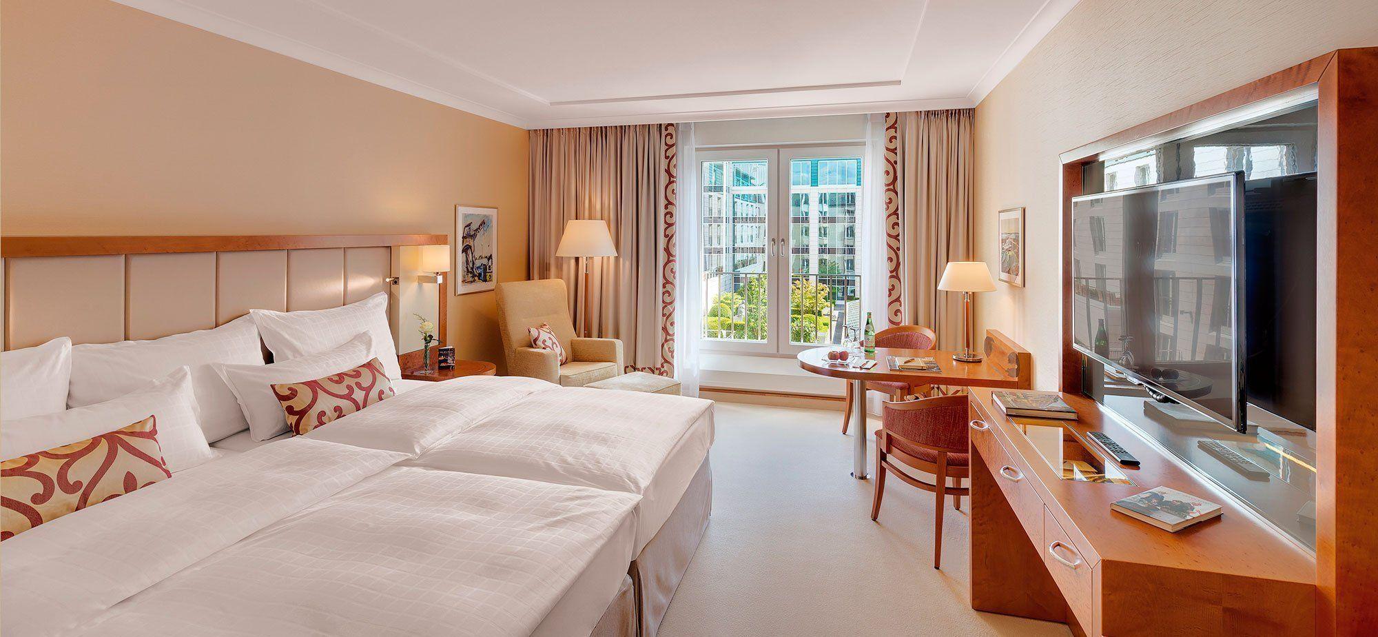 Gartenhof Zimmer Im Grand Elysee Hotel Hamburg